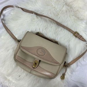 Blush cream Dooney and Bourke crossbody
